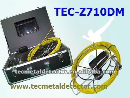 Wide View Angle Waterproof Pipe Camera Inspection,Drain Plumbing Inspection System TEC-Z710DM