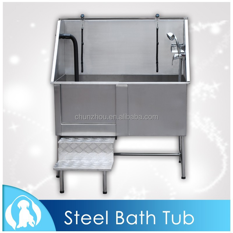 2017 Durable Stainless Steel Dog Bath Tub /H-104