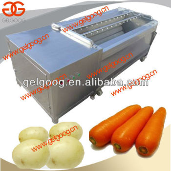 Brush Washing Machine|Carrot|Potato Washing and Peeling Machine