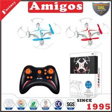 Guanghongyi 2.4G RC quadcopter with 360 degrees 3 d flipping drone radio control toy factory