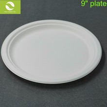 Good Quality And Cheap Price Bamboo Pulp Dessert Dinner Plate