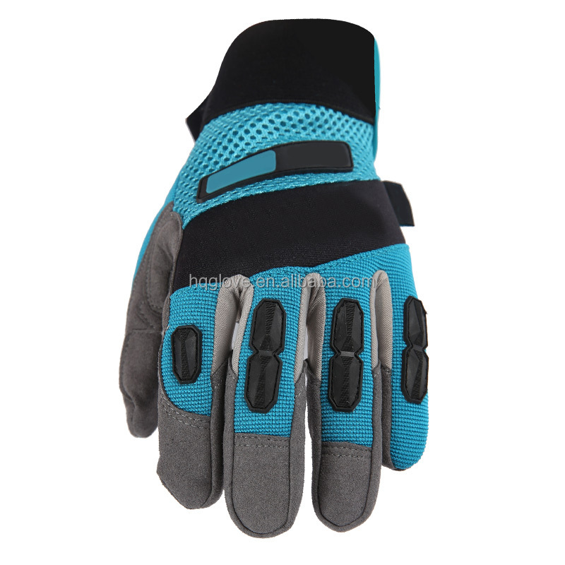 High quality slip resistance impact protection oil gas resistant glove