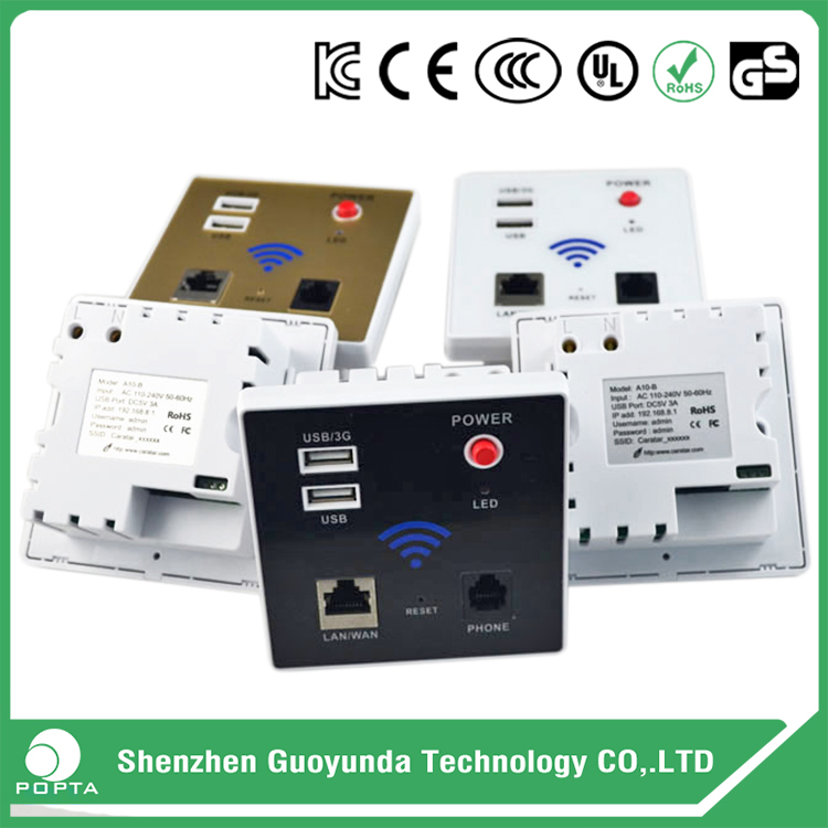 802.11n High power wireless wall mount CPE, 3G wifi wall mount access point/AP/Router/Bridge, Chipset MT7620A