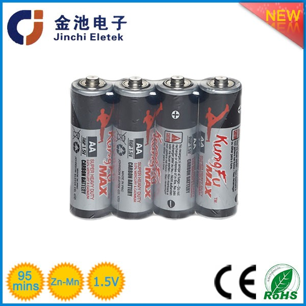 1.5v aaaR06 carbon batteryrechargeable a23 battery