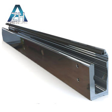 zhenghe product home decoration extruded aluminum profile door sills