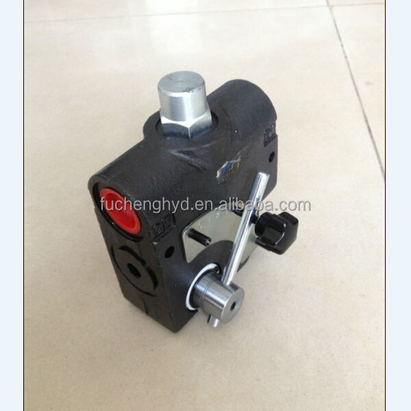 china manufacturer hydraulic contrl valve / forklift parts / DL-F25-2OT-M22*1.5 / Flow Control Valve Hydraulic