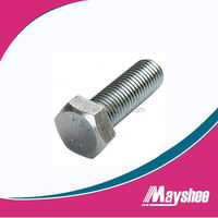 ANSI ASME B18.2.1 Furniture Connecting Hex Head Bolt In Stock