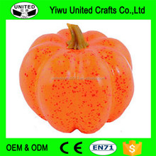 Wholesale price foam pumpkin/ artificial plastic pumpkins for Halloween decor