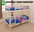 WJZ-B15 fashion design solid wood bunk bed with study desk