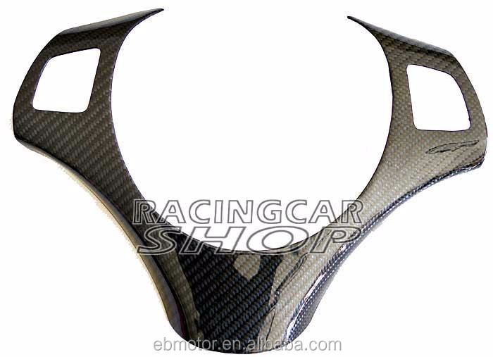 Real Carbon Fiber Steering Wheel Trim Cover For BMW E87 1-Series B274Y