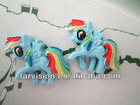 hot sale flatback resin horse, flat back resin horse cabochon for phone or hair decorations