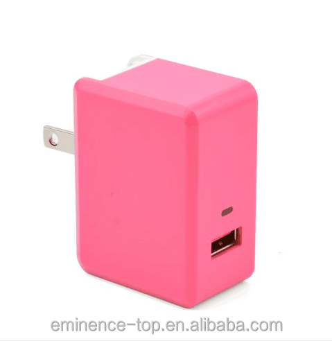 Factory direct sale high quality cheap price mobile charger portable dual usb wall charger for smartphone