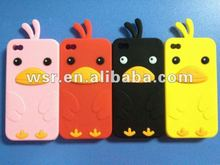 Duck Silicone Case For Apple Iphone 4 4s