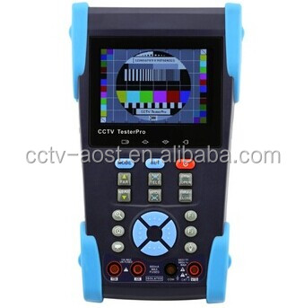 CCTV optical power meter digital multimeter tester HVT-2613