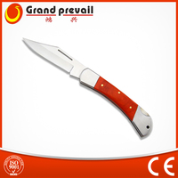 Stainless Steel Wood Handle Pocket Knife