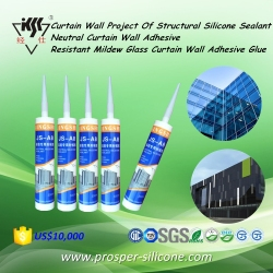 Neutral Silicone Sealant/Curtain Wall Adhesive/Resistant Mildew Glass Curtain Wall Adhesive Glue