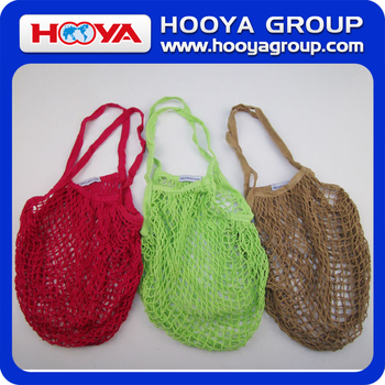 Cotton Net Bag Mesh Tote fruit mesh bag