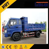 FOTON 4x4 all wheel drive small 5 tons dump truck light tipper truck for sale
