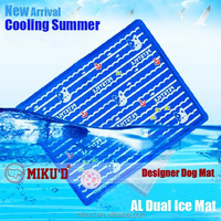 New Summer Pet Dog Ice Mat, Keep Dogs Cool, Stackable Durable Pet Dog Ice Cooling Pad