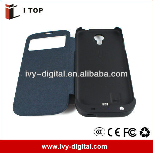 SE034 High Capacity 4500mAh Galaxy S4 i9500 External Power Case