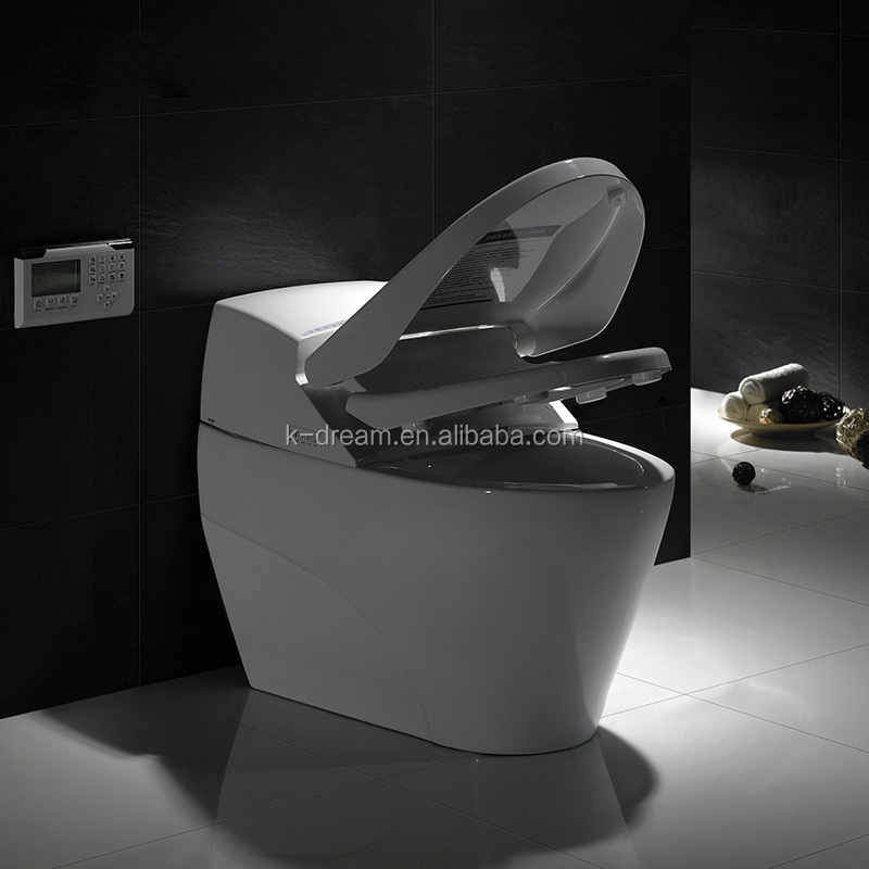 automatic flush sensor toilets/ ceramic one piece closestool KD-T010A