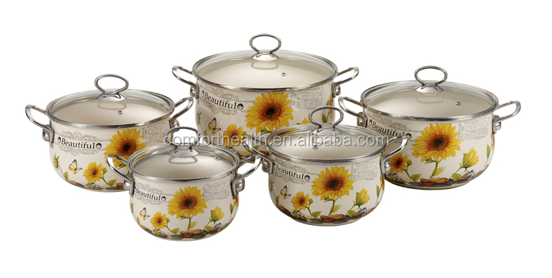 hot sales non-stick enamelware set