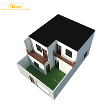 Quick Build China Prefabricated steel building kits for Home