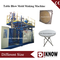 Plastic chair and table making machine