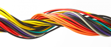 ul2464 computer wire/textile flex colorful cable