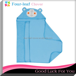 Hooded Bath Microfiber Towel Wrap Is Designed To Perfectly Fit Around Baby
