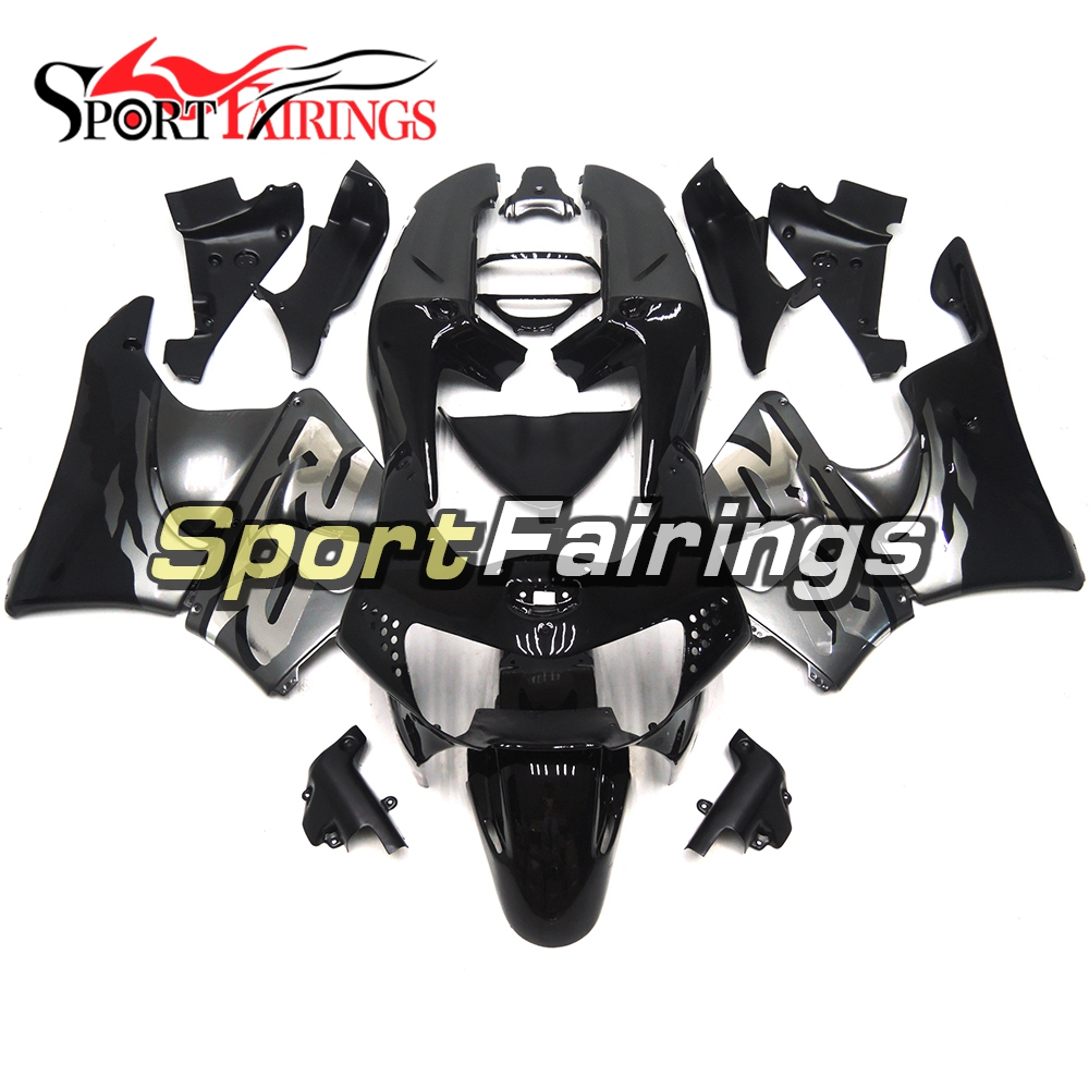 Compelte Black Silver Motorcycle ABS Plastic Fairing Kits For Honda CBR900RR 919 98-99 Year CBR919RR 1998 1999 Fairings Cowlings