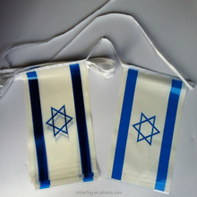 outdoor hanging promotional pride polyester or PVC or paper Israel country