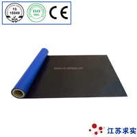 Water proof material, Rubber modified bitument with cross laminated HDPE film