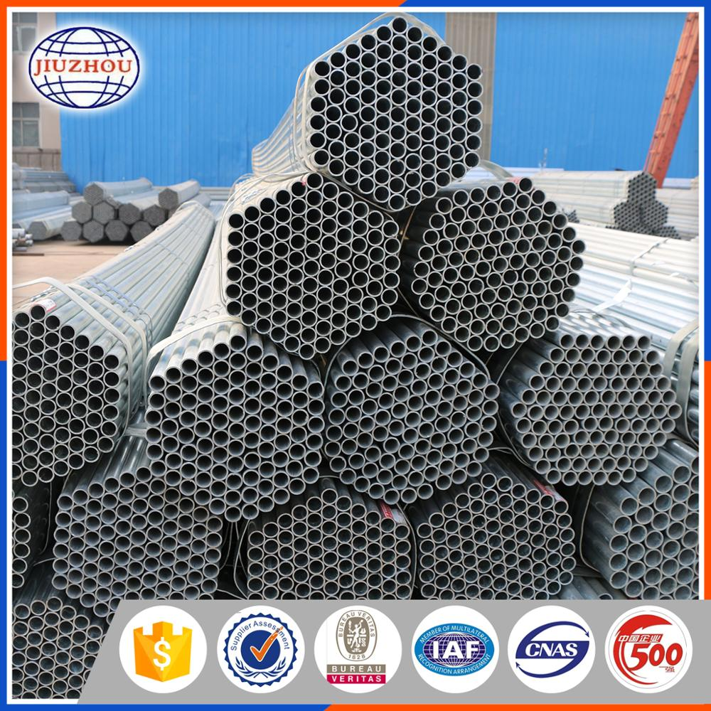 Hot Dipped Galvanized Steel Pipe For Central Air Conditioning Duct