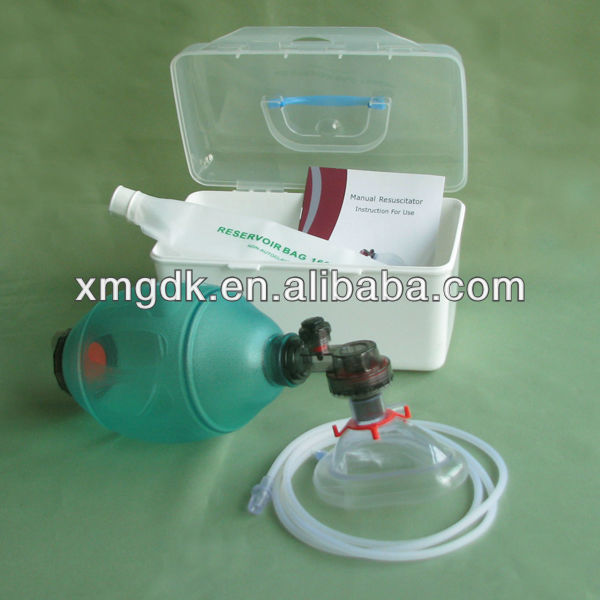 silicone rubber Resuscitator surgical instrument