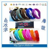Candy Color Sports Silicone Digital LED Sports Bracelet Wrist Watch
