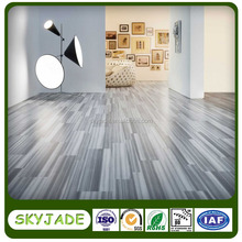 Indoor fitness residential pvc wood flooring with 5mm thickness
