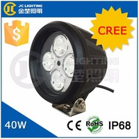 "Cree LED Chip 5"" 40W LED Work Light Driving Light for Off Road 4X4 Trucks Jeep Tractors Boat CE RoHs IP68 1 Year Warranty"