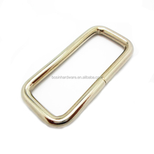 Popular Bag Accesseries High Quality Metal Rings Rectangle Ring