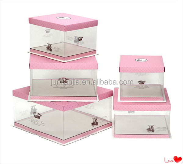 standard cake box sizes