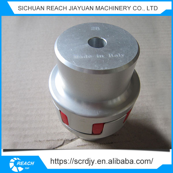 Jaw coupling or Spider Coupling high precision Spline shaft pump parts