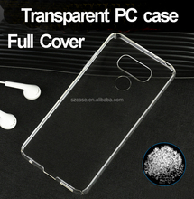 Full Cover 360 Degree Clear Transparent PC Cases for LG G6