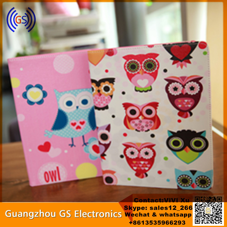 Luxury PU Leather Cartoon Tablet Cover For Ipad Mini 4 Case,Leather Case For Ipad