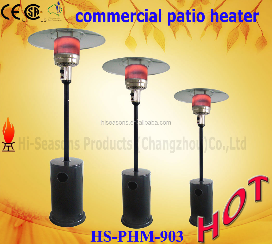 Standard Flame Patio Heater-STD with CE approval heater gas from patio heaters manufacturer