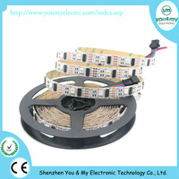 1M 32 Pixels Full Color WS2801 5050 RGB White PCB Dream Color LED Strip 5m/roll Addressable DC 5V
