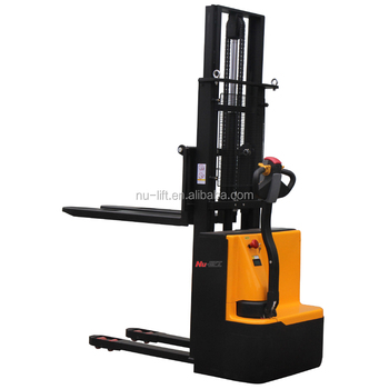 Walkie Full Electric Forklift Stacker 1Ton and 1.2Ton Capacity