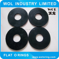 flat rubber o-ring