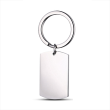 fashion design promotion gift Metal Stainless Steel Keychain