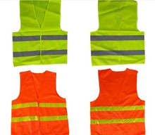 Custom Police 100% Polyester Mesh Reflective Traffic Safety Vest