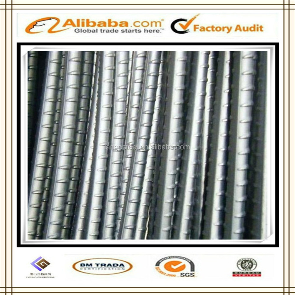 Great quality BS4449 460B/B500B Steel Rebar /Steel TMT Bar/Steel Deformed Bar 20mm